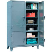Strong Hold® Heavy Duty Storage Cabinet 66-4D-248 - Four Compartment 72 x 24 x 78
