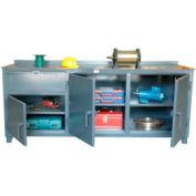 Countertop Model with Multi-Storage 84 x 30 x 34