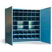 """Strong Hold Multi-Compartment Cabinet 8.47.6-518-110OP - 100""""W x 51""""D x 93""""H"""