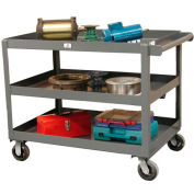 "Strong Hold® SC3248-3 Service & Utility Cart with 6"" Casters"