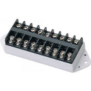 COP Security Terminal Block Bus Bar 15-TB01, Splits 1 Input To 8 Outputs