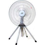 """SPT® Heavy Duty Fan, 18"""" Blade, 3 Speed Fan, Oscillating Or Fixed Direction, 3362 CFM"""