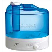 Sunpentown SPT® Ultrasonic Humidifier, 2.3 Gallon Per Day Output, Blue/White