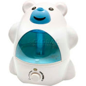 Sunpentown SPT® Ultrasonic Humidifier, Polar Bear, Up To 450 Sq. Ft., 8-10 Hour Capacity, BL/WH