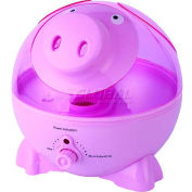 Sunpentown SPT® Ultrasonic Humidifier, Pig, Up To 450 Sq. Ft., 1 Gallon Tank, Pink