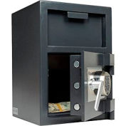 """SentrySafe Front Loading Depository Safe DH-074E - 14""""W x 15-5/8""""D x 20""""H, Black"""