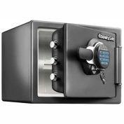 "SentrySafe Fire & Water Safe w/Electronic & Keyed Lock SFW082GTC 16-5/16""W x 19-5/16""D x 13-11/16""H"