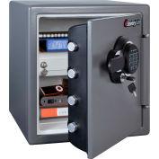 "SentrySafe Fire-Safe® SFW123GDC Electronic Lock, 16-5/16""W x 19-5/16""D x 17-13/16""H, Gray"