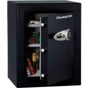 "SentrySafe Security Safe T8-331 Electronic Lock, 21-11/16""W x 19-13/16""D x 27-11/16""H, Black"