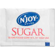 N'Joy® Sugar Foods Pure Cane Sugar, 0.098 oz., 2000/Box
