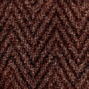"""NoTrax Arrow Trax Antimicrobial 3/8"""" Thick Entrance Floor Mat, 2' x 3' Autumn Brown"""