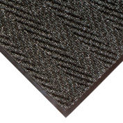 """NoTrax Arrow Trax Antimicrobial 3/8"""" Thick Entrance Floor Mat, 2' x 3' Charcoal"""