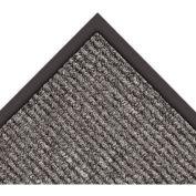 """NoTrax Estes 3/8"""" Thick Entrance Floor Mat, 2' x 3' Charcoal"""