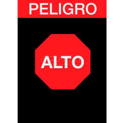 NoTrax® Safety Message Mat 194 Alto Peligro 3x5 - Black