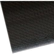 "NoTrax Razorback 1/2"" Thick Safety-Anti-Fatigue Floor Mat, 3' x 12' Black"