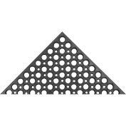 "Akro Drain-Step 3/4"" Thick Anti-Fatigue/Anti-Slip Classic Floor Mat, 3' x 5' Black"