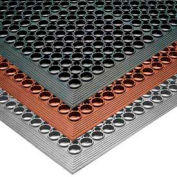 """NoTrax® Sanitop™ Drainage Mat 1/2"""" Thick 3' x 10' Red"""