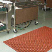 """NoTrax® T18 Superflow™ Anti Fatigue Drainage Mat 5/8"""" Thick 4' x 6' Red"""