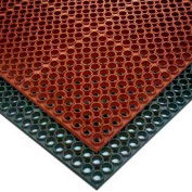 """NoTrax® T25 Challenger™ Anti Fatigue Drainage Mat 3/4"""" Thick 3' x 5' Black"""