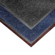 Chevron Heavier Weight Carpet Mat - 4' x 6' Charcoal