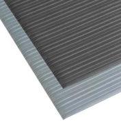 """Comfort Rest Ribbed Foam Mat - 27"""" x 60"""" - Coal"""