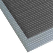 "NoTrax® T42 Comfort Rest Ribbed Foam Mat 3/8"" Thick 3' x 10' Black"