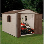 7-1/2' x 10' Storage Shed w/ Windows - Suncast Skylight A01B12C01