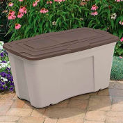 "Suncast B501824 Wheel Bin 50 Gallon, 39-1/2""L X23-1/2""W X 20-1/2""H - Pkg Qty 3"