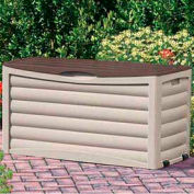 Suncast DB8300 Deck Box with Rollers 83 Gallon