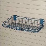 "Suncast® Trends® Garage Storage Wire Basket, 24"" W X 12"" D X 5-3/8"" H"", Blue - Pkg Qty 6"