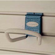 "Suncast® Trends® Garage Storage 4"" Metal Loop Hook, Blue - Pkg Qty 6"