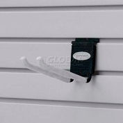 "Suncast® Trends® Garage Storage 8"" Metal Double Hook, Black - Pkg Qty 6"