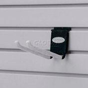 """Suncast® Trends® Garage Storage 8"""" Metal Double Hook, Black - Pkg Qty 6"""