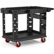 Suncast Commercial Utility Cart, Heavy Duty Plus, 26 x 45