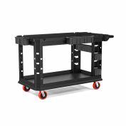 Suncast Commercial Utility Cart, Heavy Duty Plus, 26 x 54