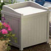 Suncast SS1000 Premium Deck Box with Seat 22 Gallon