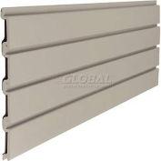 "Suncast Trends Garage Storage Slat Wall 48"" W X 3/4"" D X 12"" H Section, Light Taupe - Pkg Qty 6"