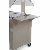 End Shelf, Stainless Steel
