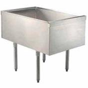 Challenger Pass Thru Ice Bin, 24X36-1/2X29, w/Cold Plate, 210-Lbs. Ice Capacity
