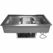 "Cold Food Well Unit, Drop-In, Refrigerated, (5) Pan Size, 74""L"