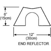 SunStar End Reflector Kit - For Infrared Heaters 43341000