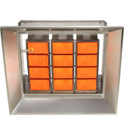 SunStar Natural Gas Heater Infrared Ceramic SG12-N, 120000 BTU