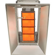 SunStar Natural Gas Heater Infrared Ceramic SG4-N, 40000 BTU