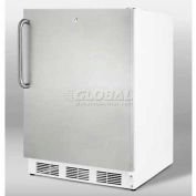 Summit ALF620SSTB - ADA Comp Freestanding Medical All-Freezer 25°C Operation,
