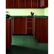 Summit BI605RFR - Refrigerator-Freezer, Undercounter White, Stainless Steel Door For Custom Panels