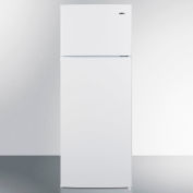 """Summit CP961 - Two-Door Cycle Defrost Refrigerator-Freezer, White, 21-1/2""""W"""