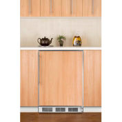 Summit CT66JBIFRADA ADA Comp Built In Undercounter Refrigerator-Freezer 5.1 Cu. Ft. White