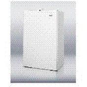 Summit FF430BLL - Slim Auto Defrost Refrigerator-Freezer In Black, Front Lock