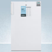 "Summit FF511L7MEDADA Commercially Listed ADA Compliant 20"" Compact All-Refrigerator For Medical Use"