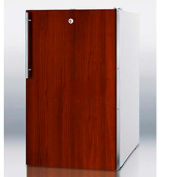 "Summit FF511LBI7IF - 20""W Built-In Undercounter All-Refrigerator,, Lock, Integrated Door Frame"